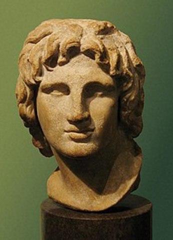 Alexander den Store dör