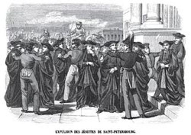 La expulsion de los jesuitas 1767