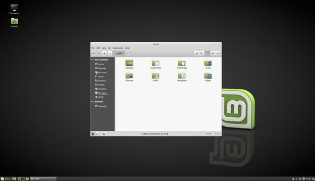 Дистрибутив  Linux Mint