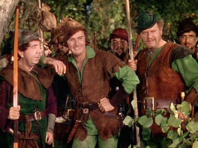 Película: Las aventuras de Robin Hood