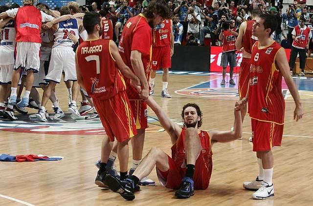Plata en el Eurobasket de España 2007