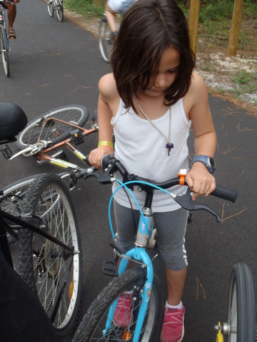 MY FIRST TIME RIDING A BIKE