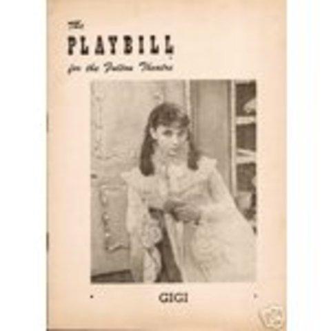 Audrey lands Role as Gigi on  Broadway