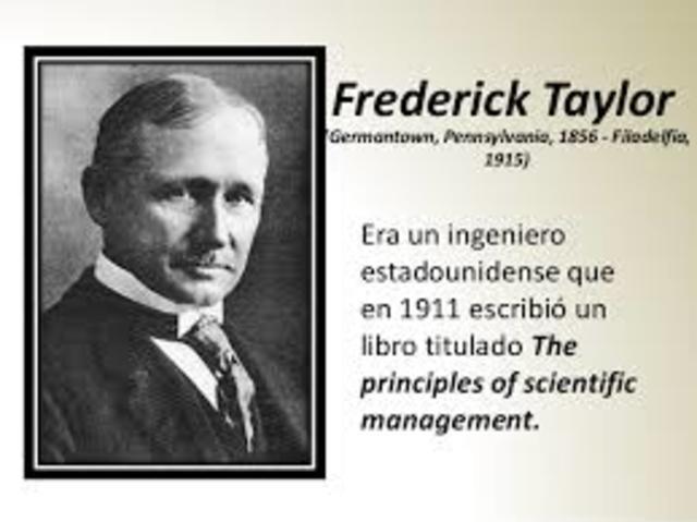 FREDERICK WILSON TAYLOR (1856-1915