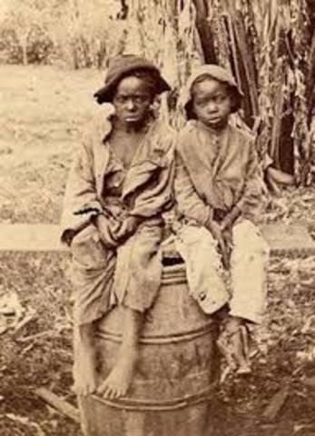Virginia Law regarding children of slaves