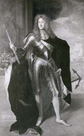 James II to throne