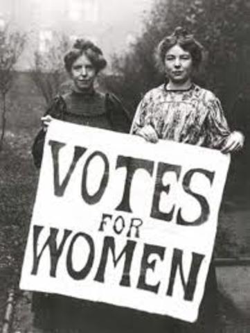 Voting Women in Wyoming