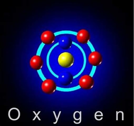 Lavoisier names oxygen