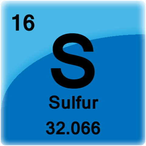 Lavoisier states sulfer is an element