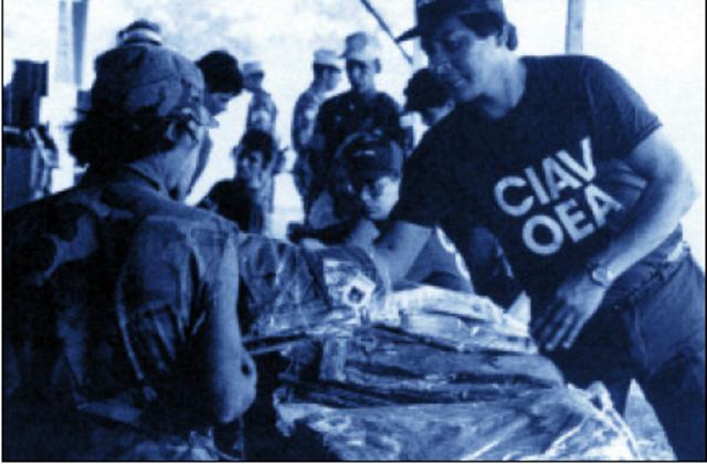 Finaliza la Misión CIAV en Nicaragua
