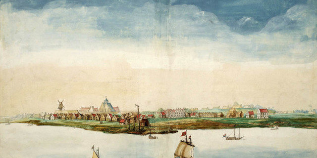 New York replaces New Netherland