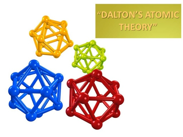 Dalton proposes his atomic teory