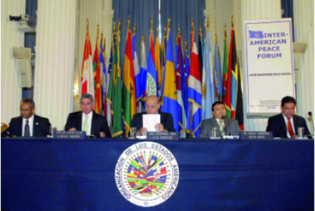 Creación del Foro Interamericano de Paz