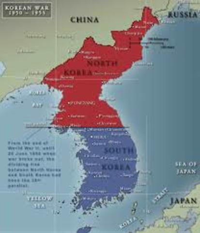 Deling av Korea i 2