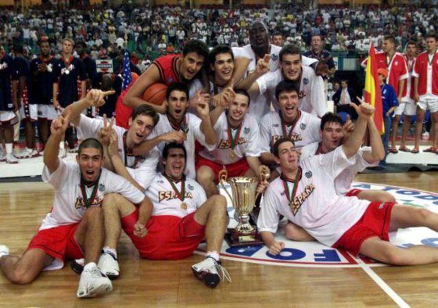 Campeón Eurobasket Junior 1998