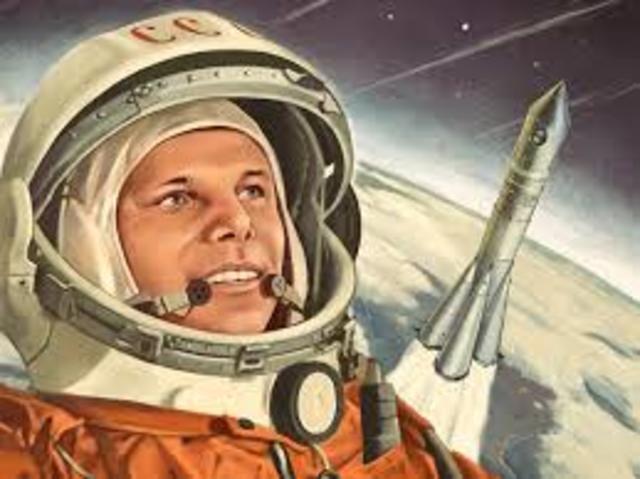 El primer ser humano en el espacio, Yuri Gagarin