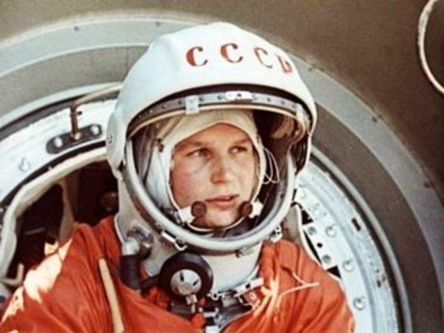 La primera mujer en el espacio, Valentina Tereshkova