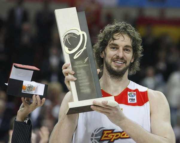 Oro en el Europeo 2009 + MVP