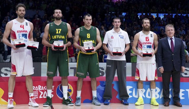 Oro en el EuroBasket 2015 + MVP