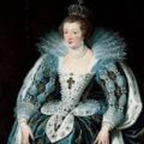 Ana de Austria, cuarta esposa.