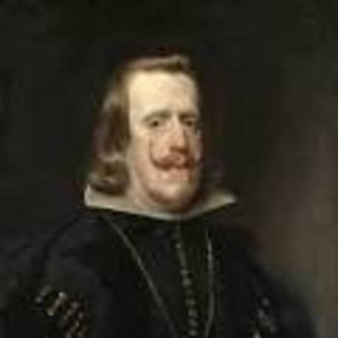 Felipe IV 1621-1665.