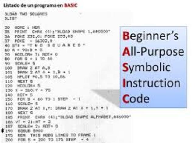 lenguaje de programación basic