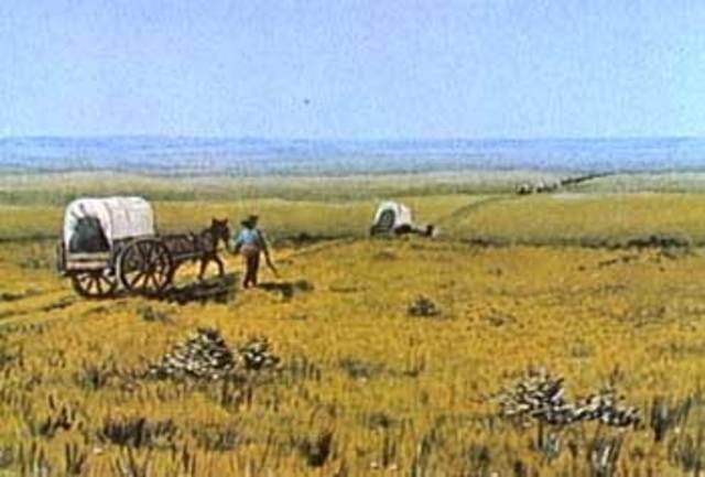 What motivated the settlers to move west