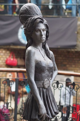 Estatua en Candem