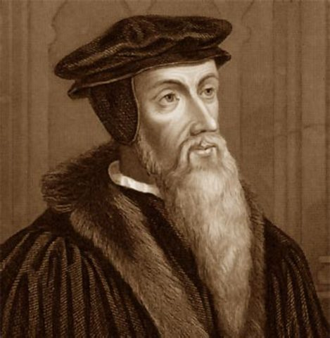 Nacimiento de Juan Calvino