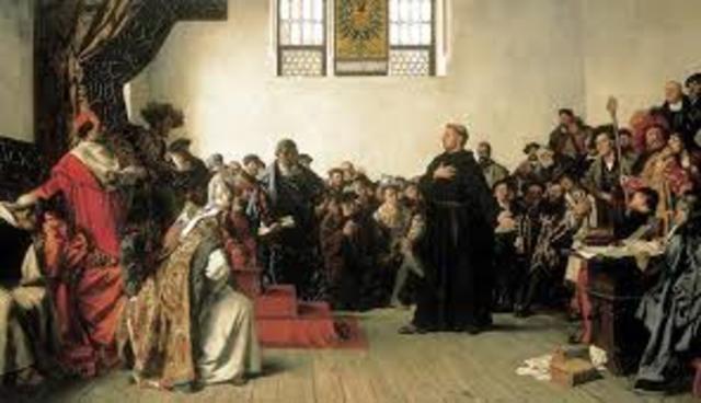 Lutero es excomulgado.