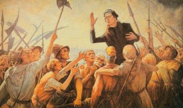 Guerra de los campesinos. (1523-1525)