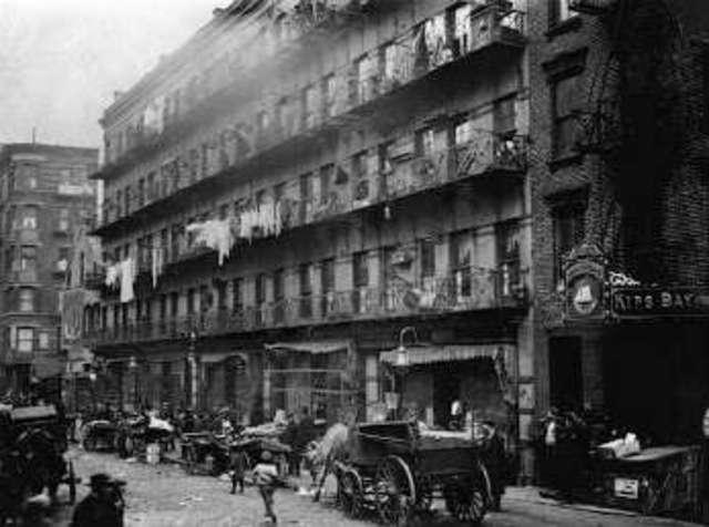 Industrialization Tenement