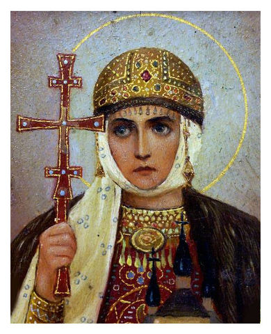 Княгиня Ольга, в крещении — Елена