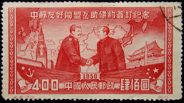 Kina og Sovjetunionen