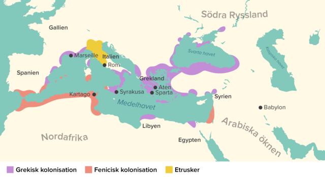 Kolonisationen