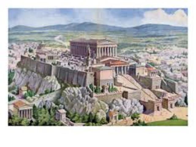 De grekiska stadstaterna växte fram
