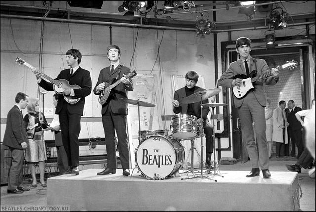 Первое выступление The Beatles по телевидению
