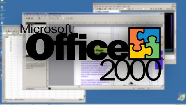 Microsoft Office 2000 office 9.0