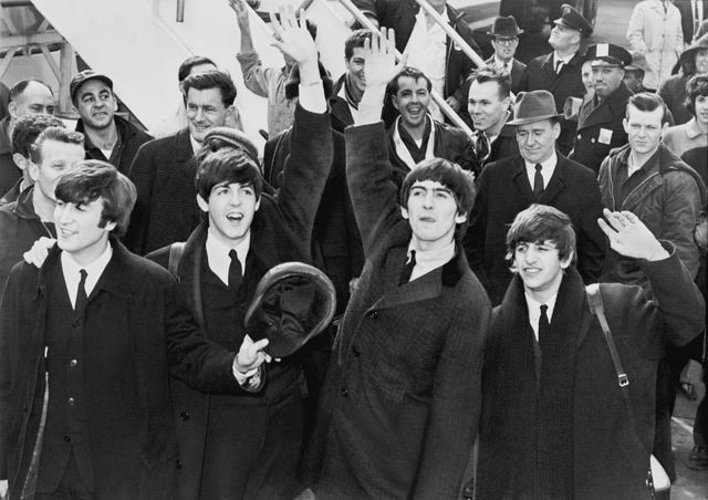 Первые гастроли The Beatles в США