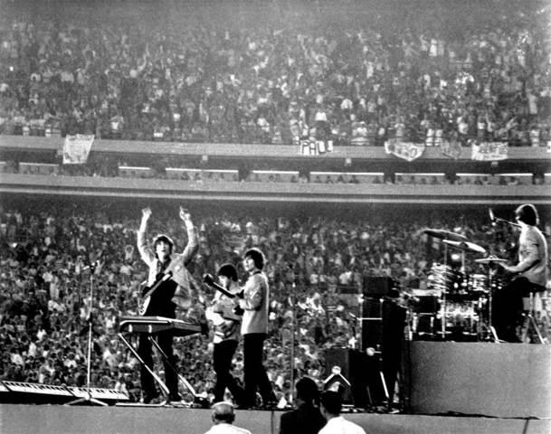 """Выступление на стадионе """"Шей"""" в США"""