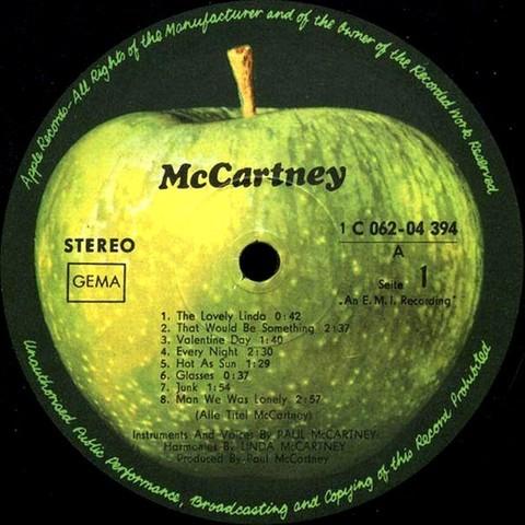Сольный альбом Пола Маккартни и распад группы