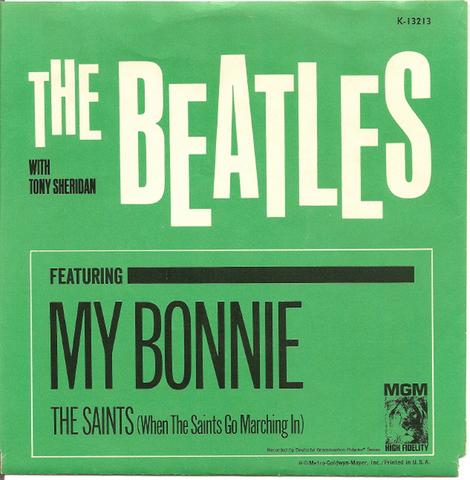 Запись первого сингла «My Bonnie / The Saints»