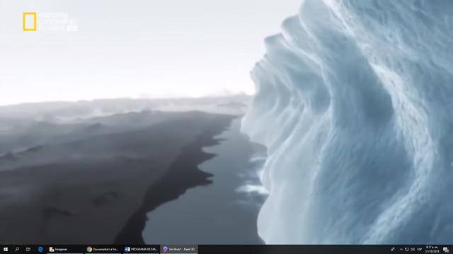 El hielo se derrite