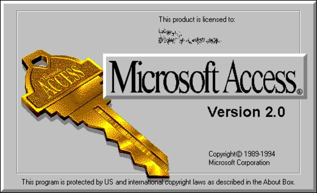 Access 2.0