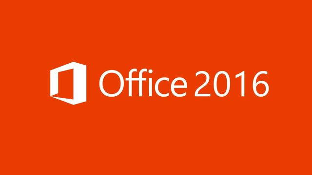 Microsoft office 16.0 (2016)