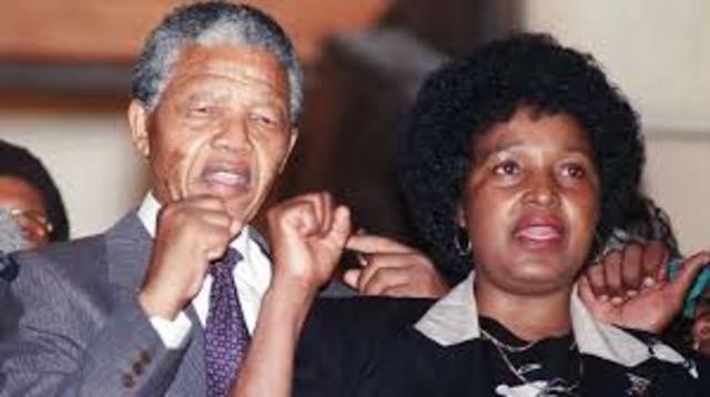 Nelson Mandelas mother died