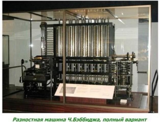 Механические компьютеры Чарльза Бэббиджа