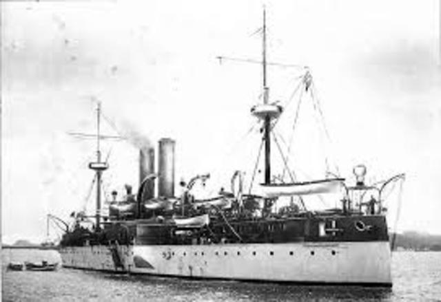 Destruction of USS Maine