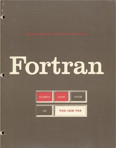 Язык программирования FORTRAN