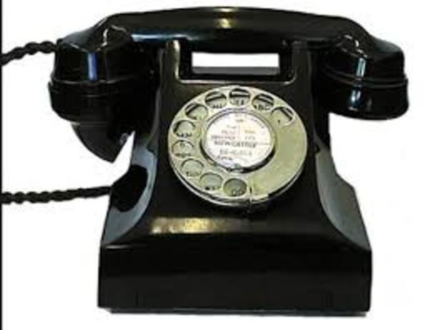 the rotary dial monophone was invented